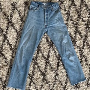 Re/done Levi's Ultra High Rose Straight 26